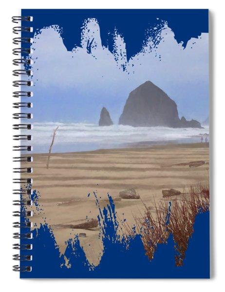 Haystack Rock Spiral Notebook