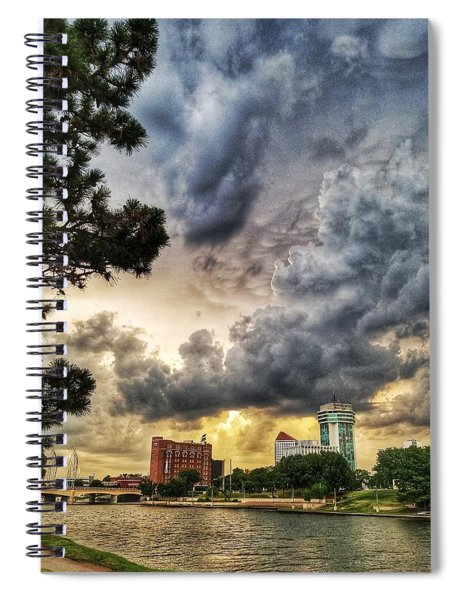 Hdr Ict Thunder Spiral Notebook