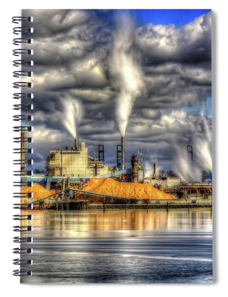 Hdr - Westrock Plant Tacoma, Wa Spiral Notebook