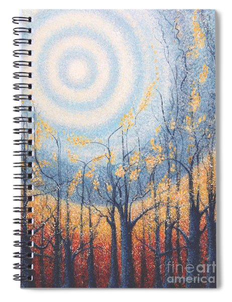 He Lights The Way In The Darkness Spiral Notebook