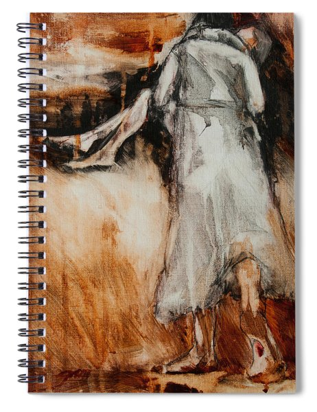 He Walks With Me Spiral Notebook