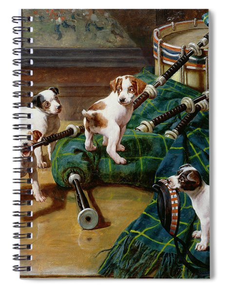 He Who Pays The Piper Calls The Tune Spiral Notebook