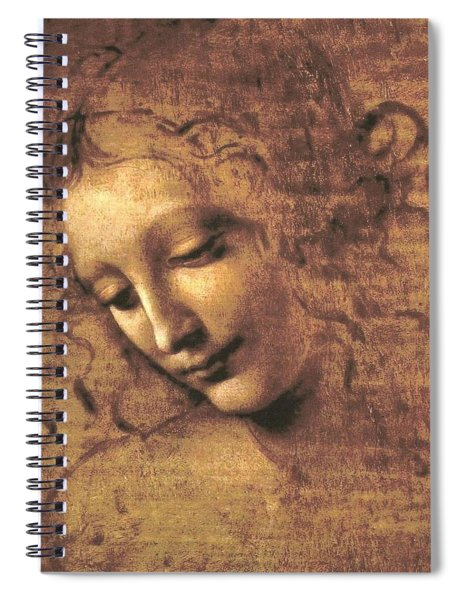 Head Of A Woman Spiral Notebook
