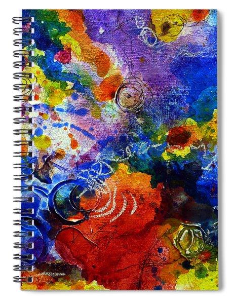 Head Over Feet Spiral Notebook
