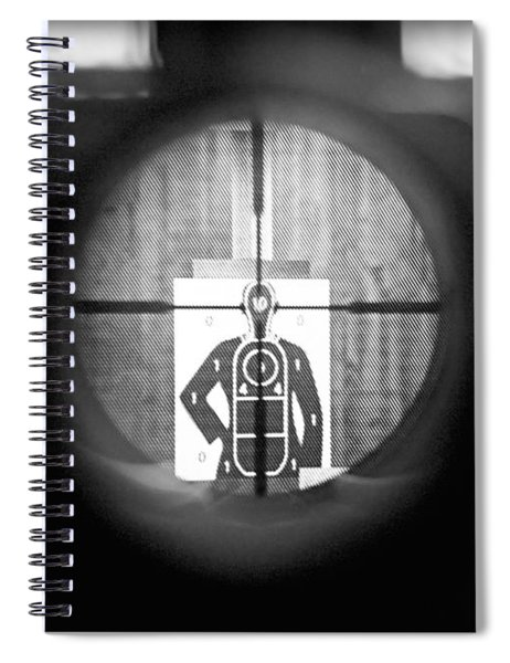 Head Shot Spiral Notebook