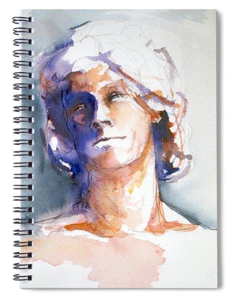 Head Study 1 Spiral Notebook