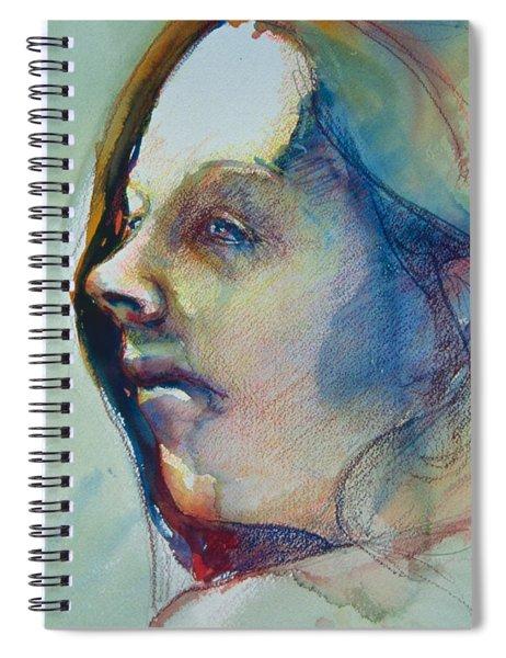 Head Study 7 Spiral Notebook