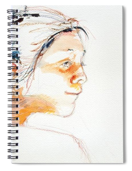 Head Study 9 Spiral Notebook