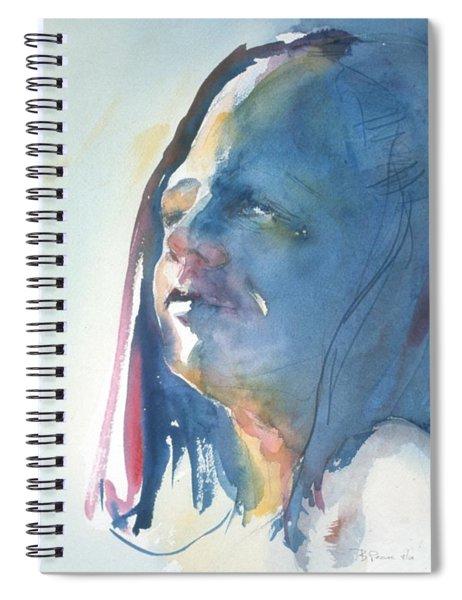 Head Study8 Spiral Notebook