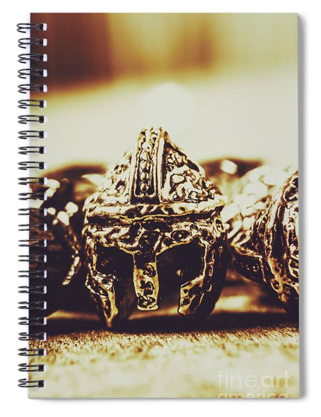 Headdress Of Medieval Antiquity Spiral Notebook