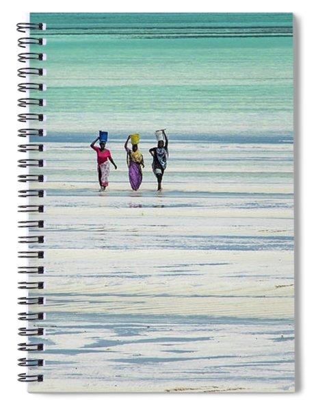 Heads Transports Spiral Notebook