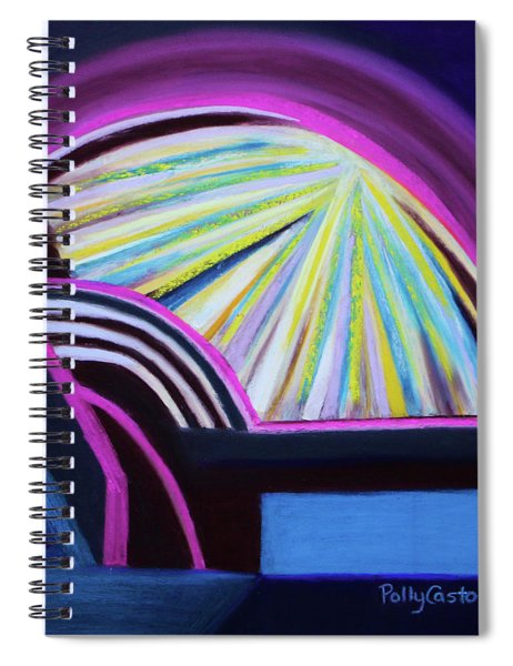 Healed From The Bed Of Pain Spiral Notebook