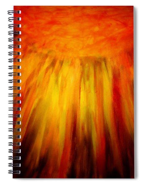 Healing Balm Of The Sun Spiral Notebook