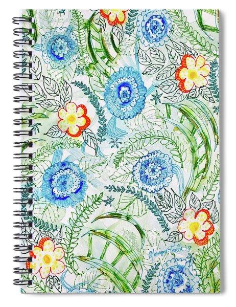 Healing Garden Spiral Notebook