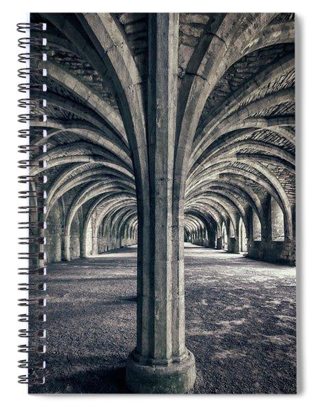 Healing Hands Of Time Spiral Notebook