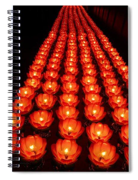 Healing Lights 1 Spiral Notebook