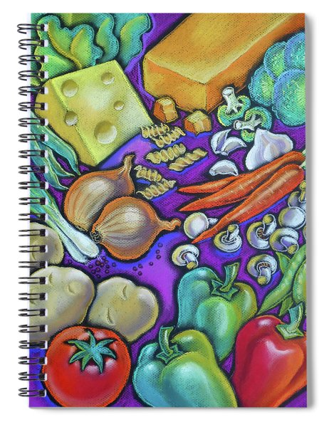 Health Food For You Spiral Notebook