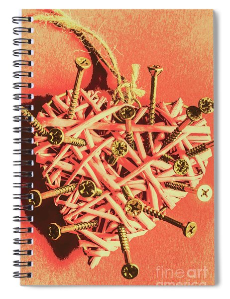 Heart Attack Spiral Notebook