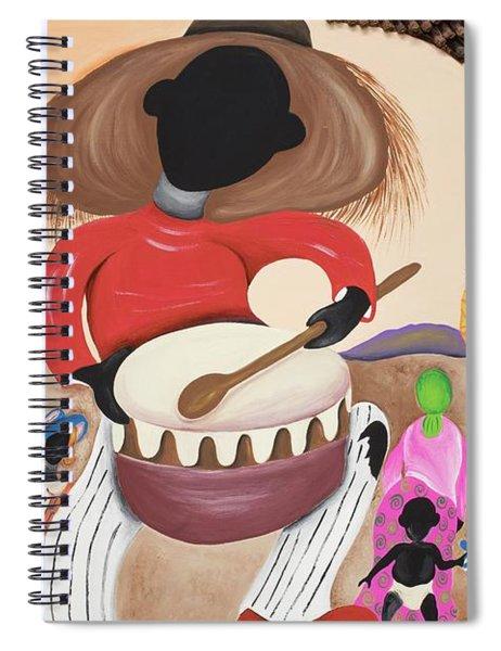 Heart Beat Spiral Notebook