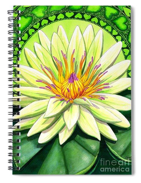 Heart Chakra Spiral Notebook