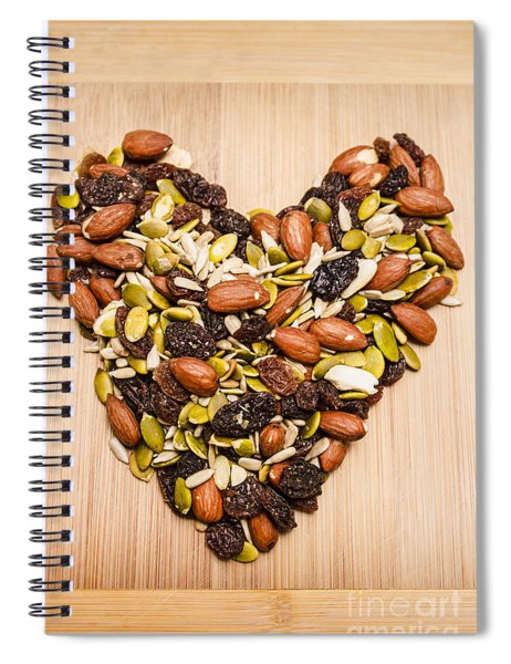 Heart Healthy Snacks Spiral Notebook