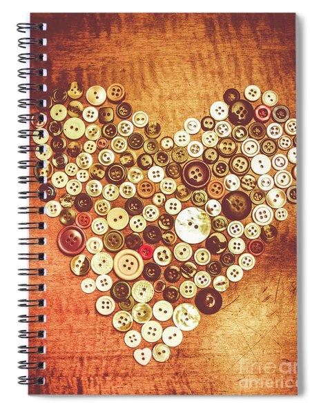 Heart Of A Tailor Spiral Notebook