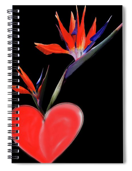 Heart  Of Paradise Spiral Notebook