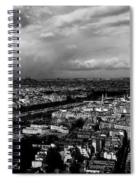 Paris 3 Spiral Notebook