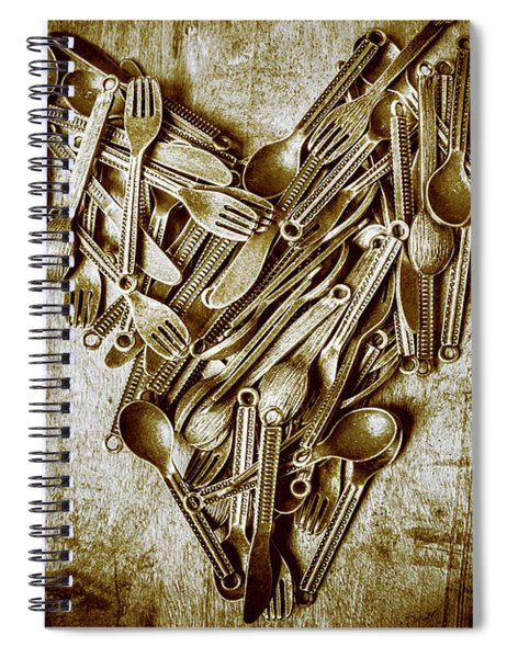 Heart Of The Kitchen Spiral Notebook