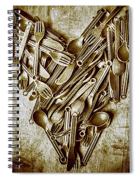 Heart Of The Kitchen Spiral Notebook