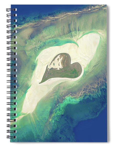 Heart Of The Ocean Spiral Notebook
