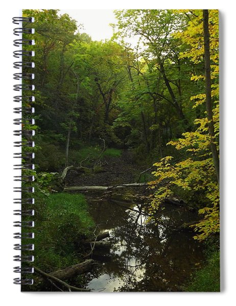 Heart Of The Woods Spiral Notebook