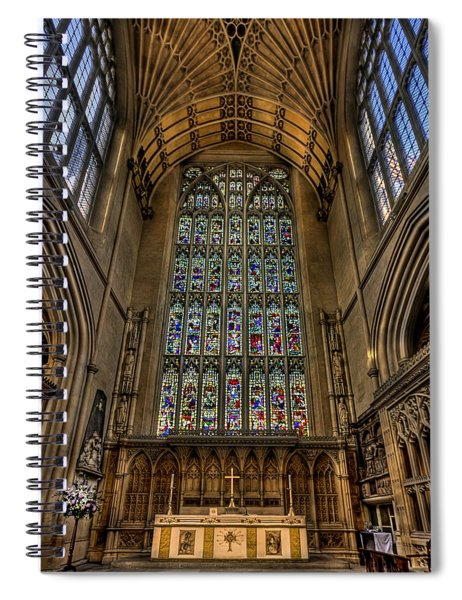 Heart Of Worship Spiral Notebook