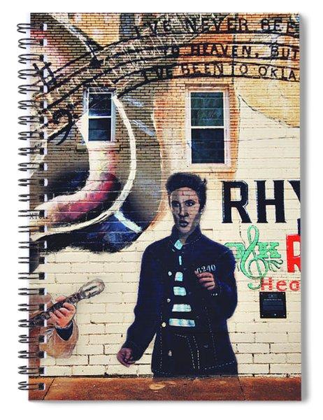 Heartbreak Hotel Spiral Notebook