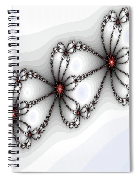 Hearts Of Fire Spiral Notebook