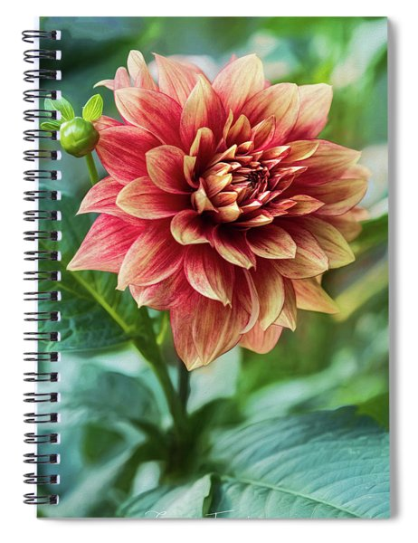 Heat Of Summer Spiral Notebook