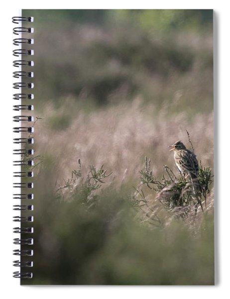 Heath Song  Skylark Spiral Notebook