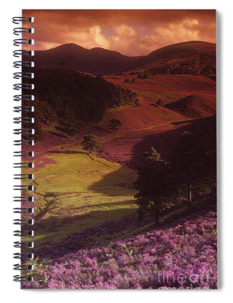 Heather Hills Spiral Notebook