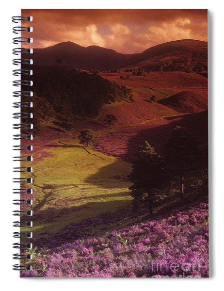 Heather Hills Spiral Notebook