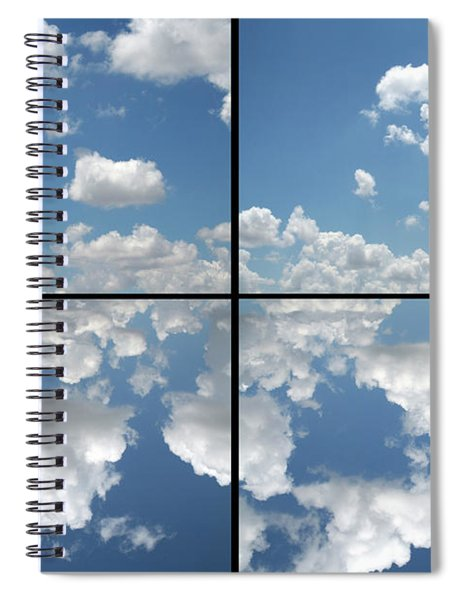 Spiral Notebook featuring the photograph Heaven by James W Johnson
