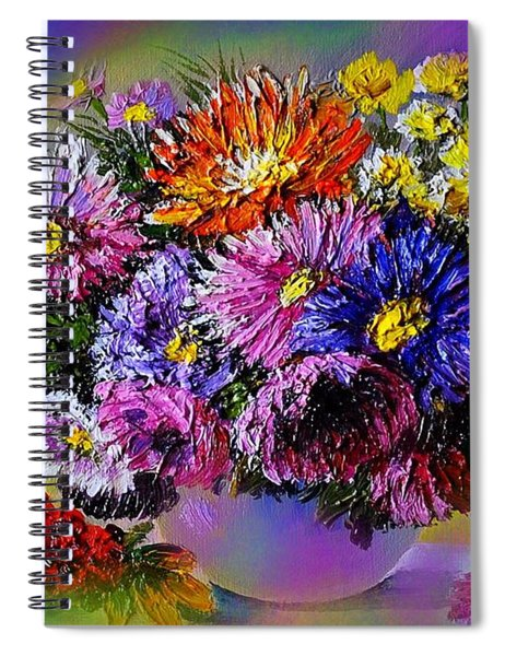 Heavenly  Blossom Spiral Notebook
