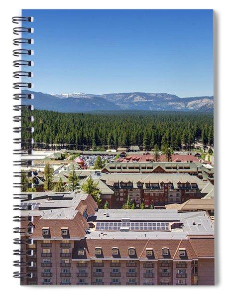 Heavenly Village Spiral Notebook