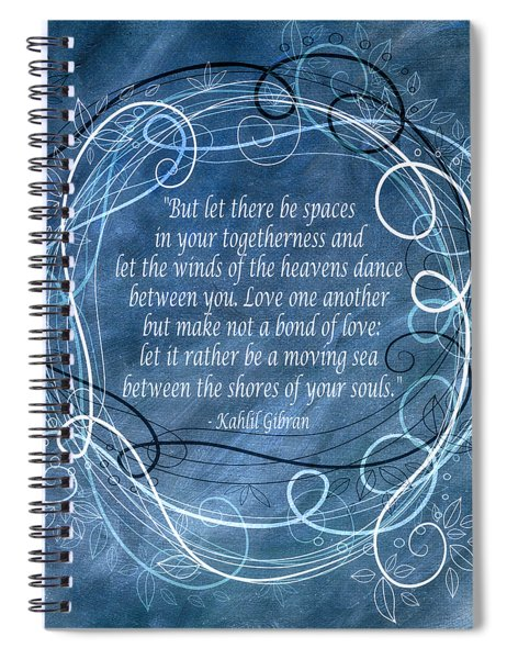 Heavens Dance Spiral Notebook