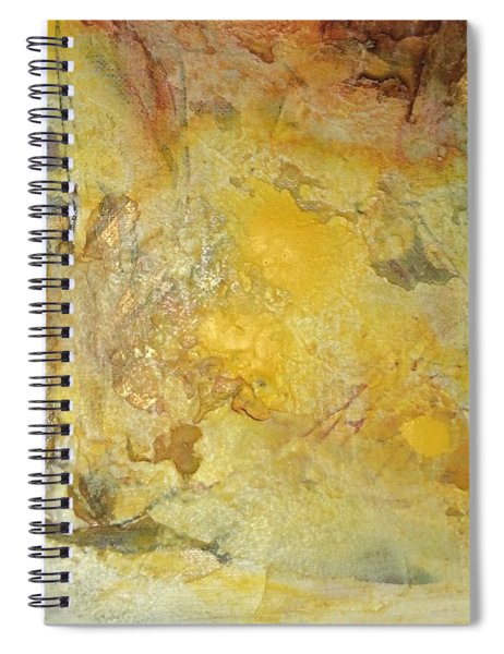 Heavens In Flux Spiral Notebook