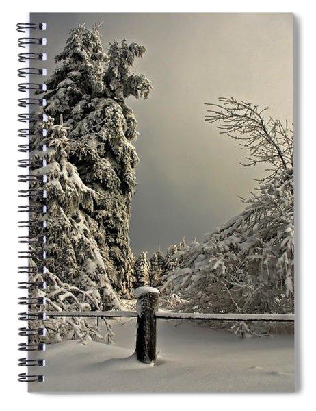 Heavy Laden Spiral Notebook