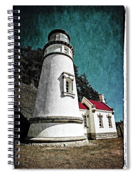 Hecitia Head Lighthouse Spiral Notebook