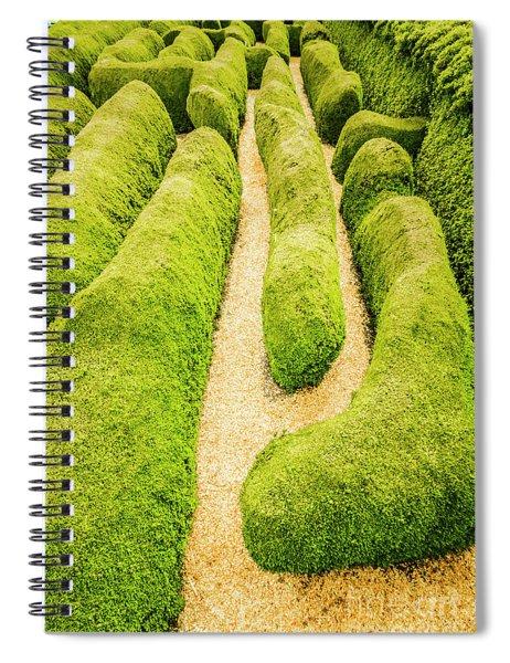 Hedging An Escape Spiral Notebook