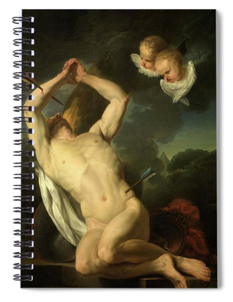 Heilige Sebastiaan Spiral Notebook