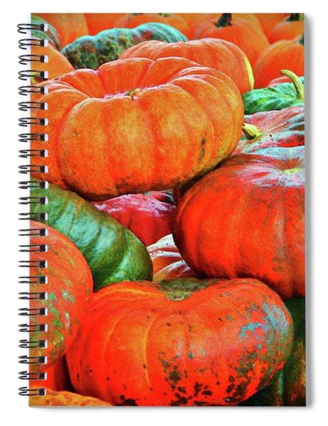 Heirloom Pumpkins Spiral Notebook
