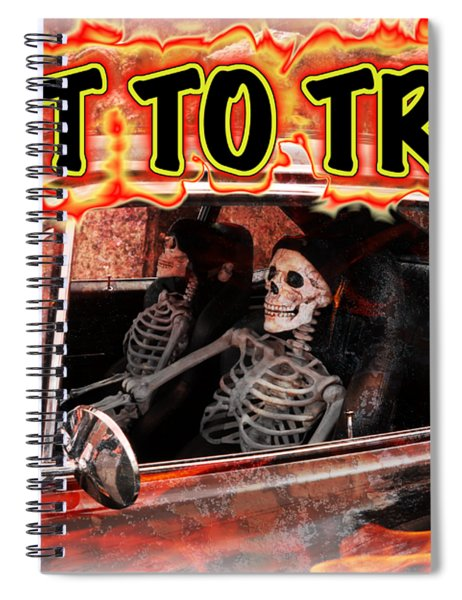 Hell Drive Spiral Notebook